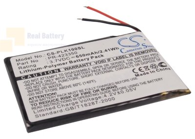 Аккумулятор CS-PLK100SL для Sony MDR-DS6500 3,7V 650Ah Li-Polymer
