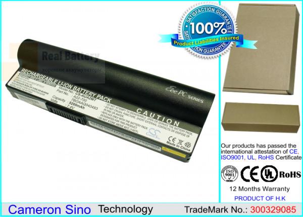 Аккумулятор CS-AUA2MT для Asus Eee PC 2G Linux  7,4V 5200mAh Li-ion