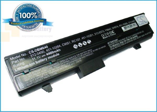 Аккумулятор CS-DBM640 для DELL Inspiron 630M  11,1V 4400mAh Li-ion