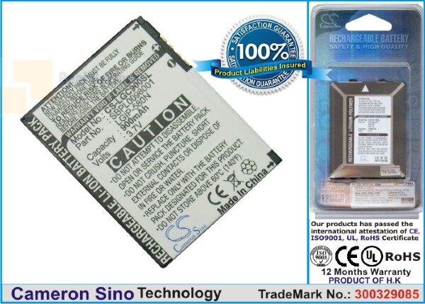 Аккумулятор CS-LGC900SL для Telstra GC900f 3,7V 900Ah Li-ion