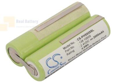 Аккумулятор CS-PHS920SL для Remington MS2-280 2,4V 2000Ah Ni-MH