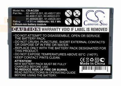 Аккумулятор CS-AC220 для Acer TravelMate 220  14,8V 4400mAh Li-ion