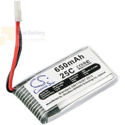 Аккумулятор CS-LT118RX для SYMA CX-30 3,7V 650Ah Li-Polymer