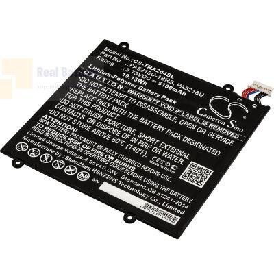 Аккумулятор CS-TRA204SL для Toshiba Excite A204 3,75V 5100Ah Li-Polymer