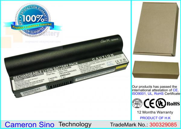 Аккумулятор CS-AUA2NT для Asus Eee PC 2G Linux  7,4V 4400mAh Li-ion