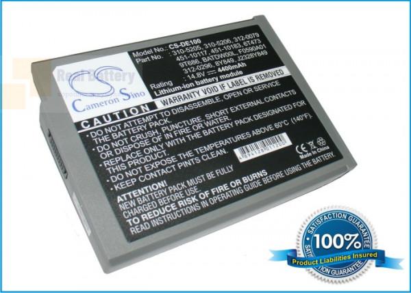 Аккумулятор CS-DE100 для DELL Inspiron 1100  14,8V 4400mAh Li-ion