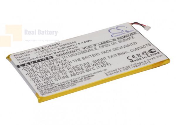Аккумулятор CS-ZTU969SL для ZTE Grand Memo 3,7V 2200Ah Li-Polymer