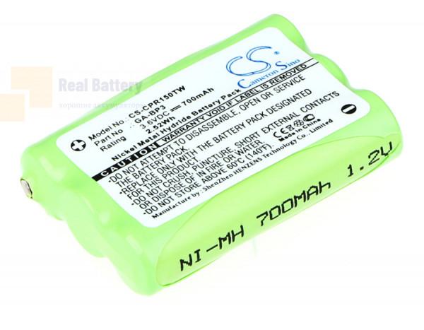 Аккумулятор CS-CPR150TW для Switel WTF8000 3,6V 700Ah Ni-MH