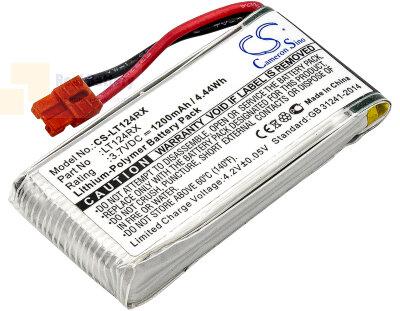 Аккумулятор CS-LT124RX для SYMA X5HC 3,7V 1200Ah Li-Polymer