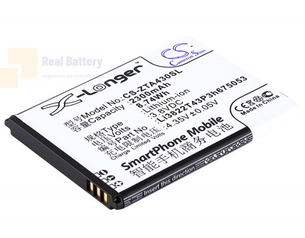 Аккумулятор CS-ZTA430SL для Telstra 4GX Buzz 3,8V 2300Ah Li-ion