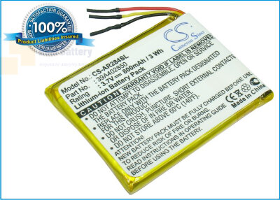 Аккумулятор CS-AR284SL для Archos 28 Internet Tablet 3,7V 800Ah Li-Polymer