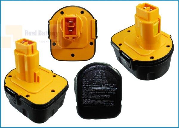 Аккумулятор для Dewalt 152250-27 12V 3Ah Ni-MH CS-DWC540PX
