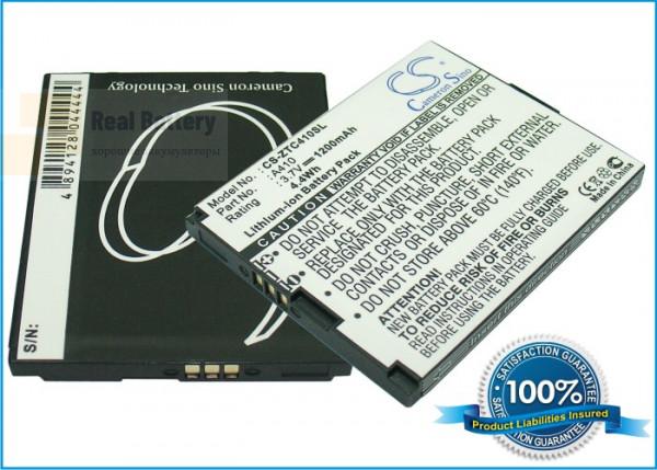 Аккумулятор CS-ZTC410SL для Telstra A410 3,7V 1200Ah Li-ion