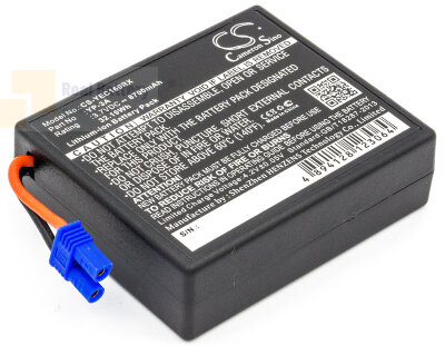 Аккумулятор CS-YEC160RX для YUNEEC H480 Drone Remote Control 3,7V 8700Ah Li-ion