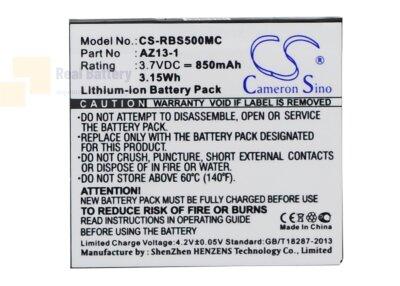 Аккумулятор CS-RBS500MC для Xiaomi Yi AZ13-1 3,7V 850Ah Li-ion