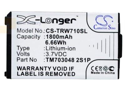 Аккумулятор CS-TRW710SL для Tritton Warhead 7.1 3,7V 1800Ah Li-ion