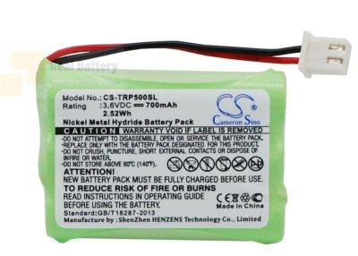 Аккумулятор CS-TRP500SL для Tri-Tronics G2 Pro 3,6V 700Ah Ni-MH
