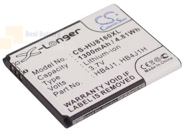Аккумулятор CS-HU8160XL для T-Mobile deos X1 3,7V 1300Ah Li-ion