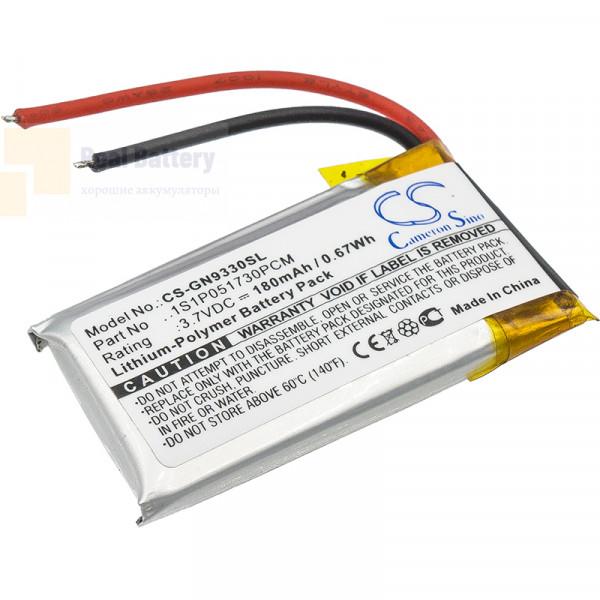 Аккумулятор CS-GN9330SL для GN GN9330 3,7V 180Ah Li-Polymer