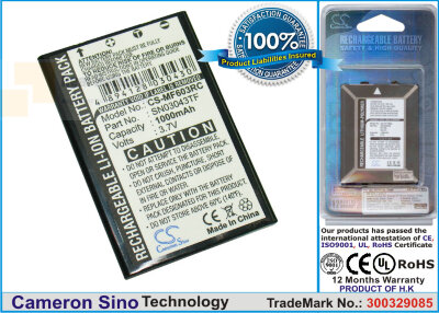 Аккумулятор CS-MF603RC для Acoustic Research ARRX18G 3,7V 1000Ah Li-ion