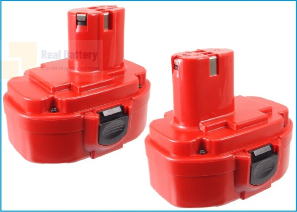 Аккумулятор для Makita 4334D 18V 1,5Ah Ni-MH CS-MKT433PW