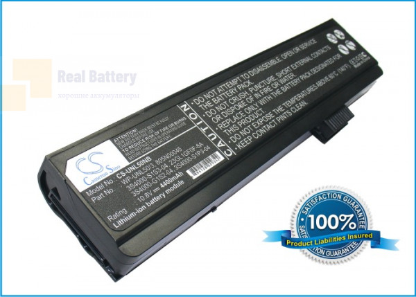 Аккумулятор CS-UNL50NB для Advent 7109A  10,8V 4400mAh Li-ion