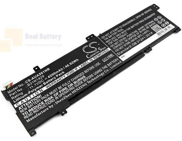 Аккумулятор CS-AUA501NB для Asus A501C1-Z1-C10  11,1V 4200mAh Li-Polymer