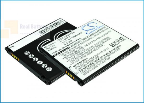 Аккумулятор CS-LKP930SL для Verizon Spectrum 3,7V 1300Ah Li-ion