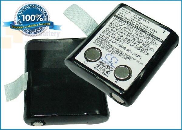 Аккумулятор CS-TSX100TW для TriSquare TSX100 4,8V 800Ah Ni-MH