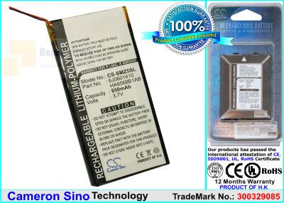 Аккумулятор CS-SMZ5SL для Samsung SEC-YP5Z 3,7V 850Ah Li-Polymer