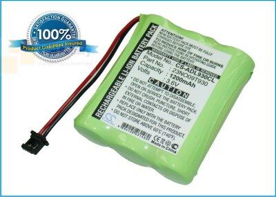 Аккумулятор CS-ADL930CL для Panasonic 1800 3,6V 1200Ah Ni-MH