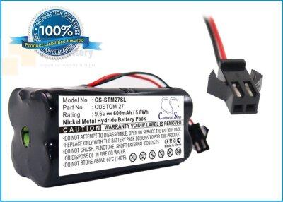 Аккумулятор CS-STM27SL для Tri-Tronics 1016200 9,6V 600Ah Ni-MH