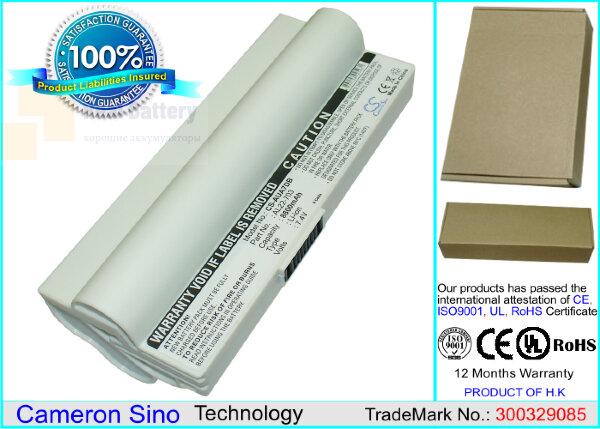 Аккумулятор CS-AUA7DB для Asus Eee PC 701SD  7,4V 8800mAh Li-ion