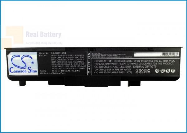 Аккумулятор CS-FU7310NB для Fujitsu Amilo L1310G  11,1V 4400mAh Li-ion