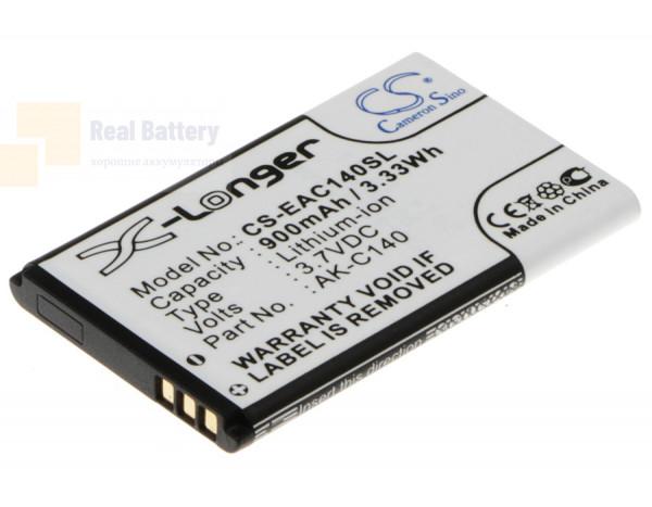 Аккумулятор CS-EAC140SL для Texet TD-D109 3,7V 900Ah Li-ion