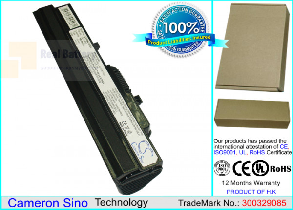 Аккумулятор CS-MSU100DB для Advent 4211 11,1V 6600mAh Li-ion