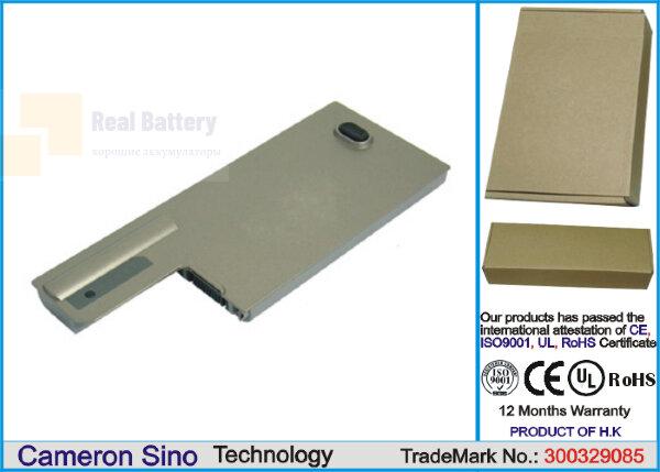 Аккумулятор CS-DED820NB для DELL Latitude D531  11,1V 4400mAh Li-ion