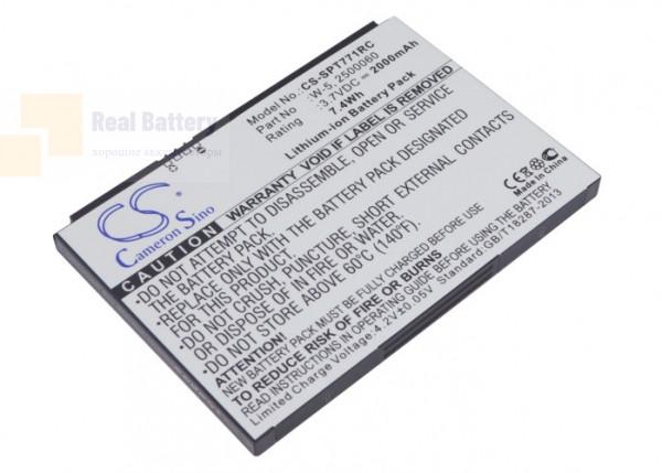Аккумулятор CS-SPT771RC для Sprint AirCard 770S 3,7V 2000Ah Li-ion