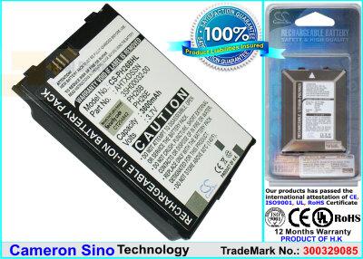 Аккумулятор CS-PH26BHL для T-Mobile MDA iii 3,7V 3600Ah Li-ion