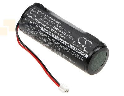 Аккумулятор CS-WXH95SL для Wella Pro 9550 2,4V 1200Ah Ni-MH