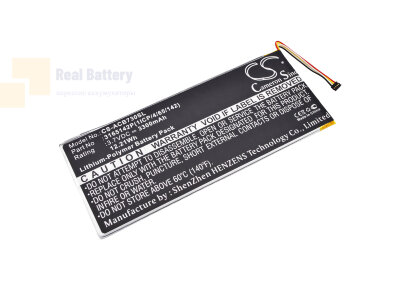 Аккумулятор CS-ACB730SL для Acer A1402 3,7V 3300Ah Li-Polymer