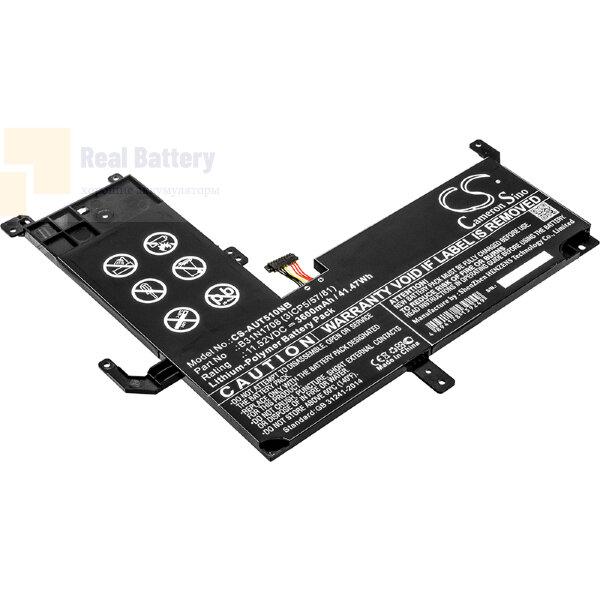 Аккумулятор CS-AUT510NB для Asus VivoBook Flip TP510  11,52V 3600mAh Li-Polymer