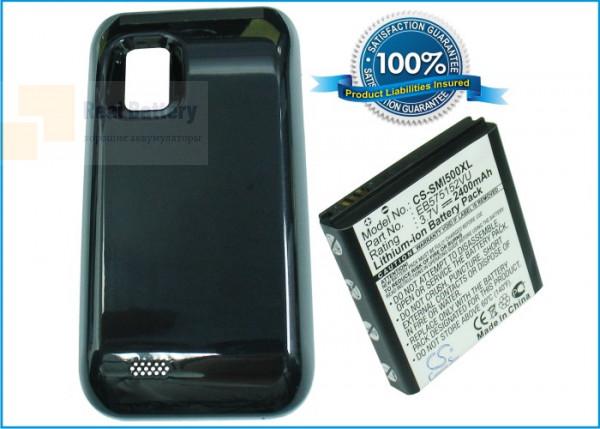 Аккумулятор CS-SMI500XL для Verizon Fascinate 3,7V 2400Ah Li-ion