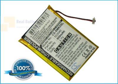 Аккумулятор CS-SMK5SL для Samsung YP-K5 3,7V 600Ah Li-Polymer