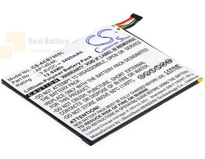 Аккумулятор CS-ACB750SL для Acer Iconia One 7 B1-750 3,8V 3400Ah Li-Polymer