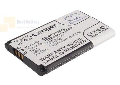 Аккумулятор CS-WTE450XL для Wacom CTH-470 3,7V 1200Ah Li-ion