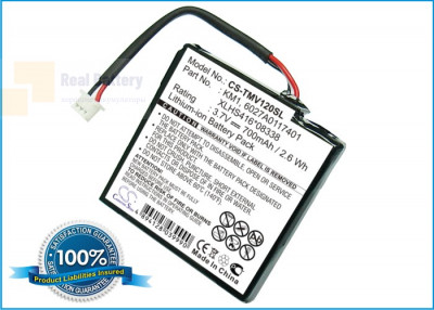 Аккумулятор CS-TMV120SL для TomTom 4EH44 3,7V 700Ah Li-ion