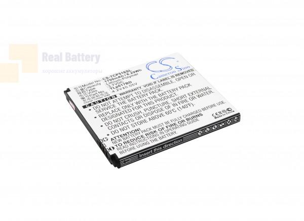 Аккумулятор CS-TCP516SL для TCL P516L 3,7V 1700Ah Li-Polymer