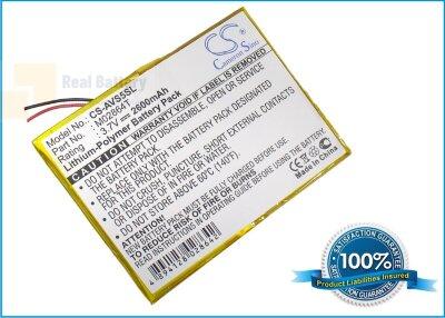 Аккумулятор CS-AVS5SL для Archos 5 60GB 3,7V 2600Ah Li-Polymer