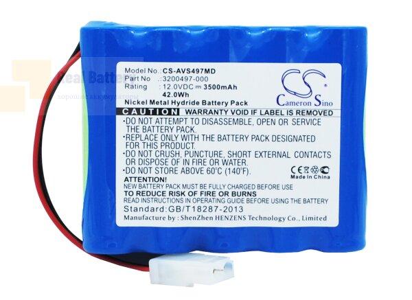 Аккумулятор CS-AVS497MD для Viasys Healthcare AVEA 12V 3500Ah Ni-MH